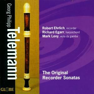 The Original Recorder Sonatas, Richard Egarr,mark Levy Robert Ehrlich