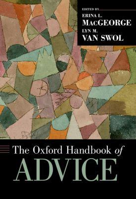 The Oxford Handbook of Advice