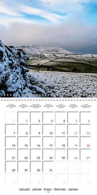The Pendle Way (Wall Calendar 2019 300 × 300 mm Square) - Produktdetailbild 1