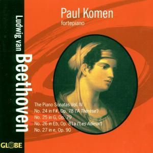 The Piano Sonatas Vol.4, Paul Komen