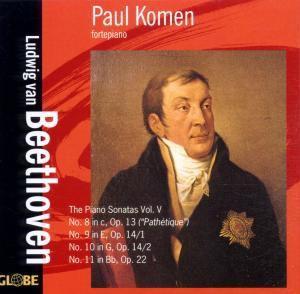 The Piano Sonatas Vol.5, Paul Komen