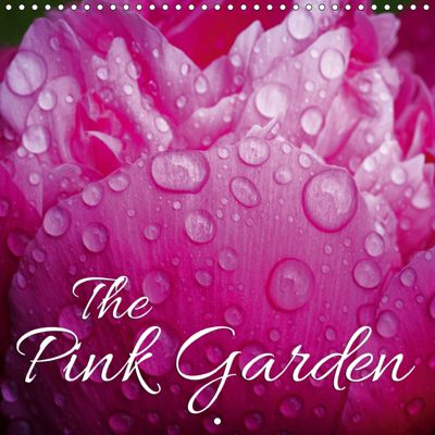 The Pink Garden (Wall Calendar 2019 300 × 300 mm Square), Martina Cross