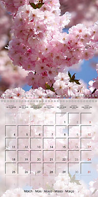 The Pink Garden (Wall Calendar 2019 300 × 300 mm Square) - Produktdetailbild 3