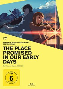 The Place Promised in Our Early Days, Edition Anime