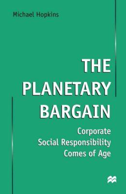 The Planetary Bargain, Michael Hopkins