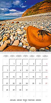 The power of stones (Wall Calendar 2019 300 × 300 mm Square) - Produktdetailbild 1
