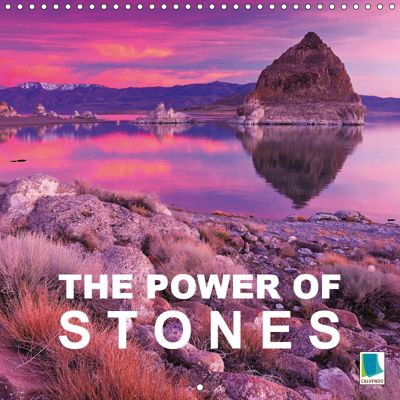 The power of stones (Wall Calendar 2019 300 × 300 mm Square), CALVENDO