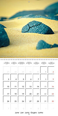 The power of stones (Wall Calendar 2019 300 × 300 mm Square) - Produktdetailbild 6