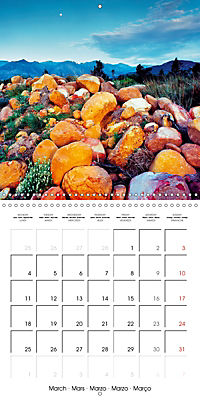 The power of stones (Wall Calendar 2019 300 × 300 mm Square) - Produktdetailbild 3