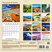 The power of stones (Wall Calendar 2019 300 × 300 mm Square) - Produktdetailbild 13