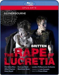 The Rape Of Lucretia, Rice, Clayton, Royal, Rock, Rose, Lpo