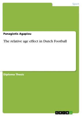 The relative age effect in Dutch Football, Panagiotis Agapiou