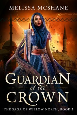 The Saga of Willow North: Guardian of the Crown, Melissa McShane