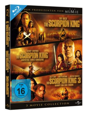 The Scorpion King - 3 Movie Collection, Michael Clarke Duncan,Steven Brand Dwayne Johnson