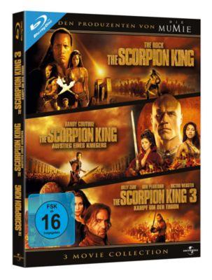 The Scorpion King - 3 Movie Collection, Michael Clarke Duncan,Steven Brand Dwayne Johnson