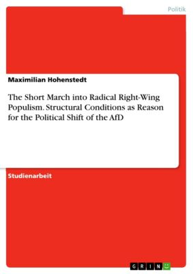 The Short March into Radical Right-Wing Populism. Structural Conditions as Reason for the Political Shift of the AfD, Maximilian Hohenstedt