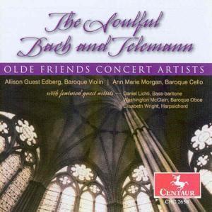The Soulful Bach And Telemann, Diverse Interpreten