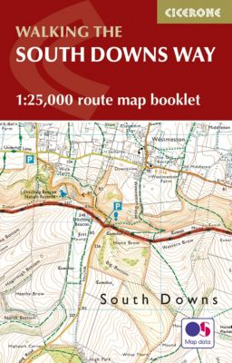 The South Downs Way Map Booklet, Kev Reynolds