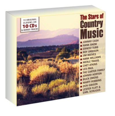 The Stars Of Country Music (15 Original Albums auf 10 CDs), Various
