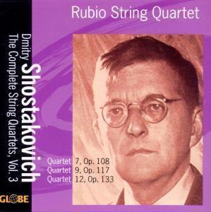 The String Quartets Vol.3, Rubio String Quartet