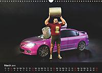 The Strongman and the Cars (Wall Calendar 2019 DIN A3 Landscape) - Produktdetailbild 3