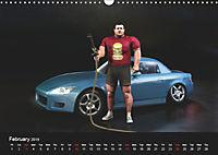 The Strongman and the Cars (Wall Calendar 2019 DIN A3 Landscape) - Produktdetailbild 2