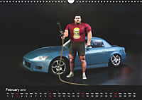 The Strongman and the Cars (Wall Calendar 2019 DIN A3 Landscape) - Produktdetailbild 2