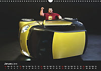 The Strongman and the Cars (Wall Calendar 2019 DIN A3 Landscape) - Produktdetailbild 1