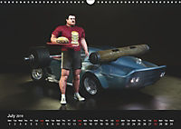 The Strongman and the Cars (Wall Calendar 2019 DIN A3 Landscape) - Produktdetailbild 7