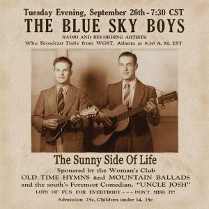 The Sunny Side Of Life, Blue Sky Boys