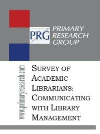 The Survey of Academic Librarians, Primary Research Group Staff