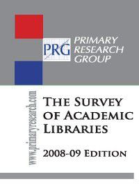 The Survey of Academic Libraries, Primary Research Group Staff