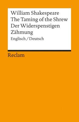 The Taming of the Shrew / Der Widerspenstigen Zähmung - William Shakespeare |