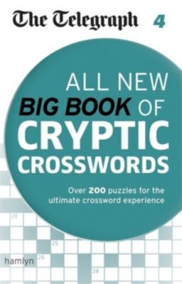 The Telegraph: All New Big Book of Cryptic Crosswords 4, THE TELEGRAPH MEDIA GROUP