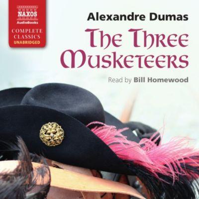 The Three Musketeers (Unabridged), Alexandre Dumas
