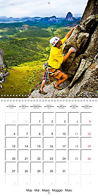 The thrill of climbing: Cliffs and rock faces (Wall Calendar 2019 300 × 300 mm Square) - Produktdetailbild 5