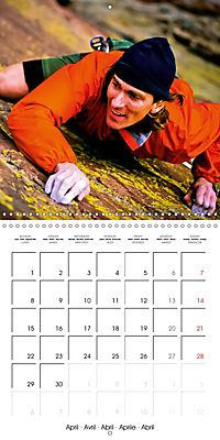 The thrill of climbing: Cliffs and rock faces (Wall Calendar 2019 300 × 300 mm Square) - Produktdetailbild 4