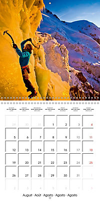 The thrill of climbing: Cliffs and rock faces (Wall Calendar 2019 300 × 300 mm Square) - Produktdetailbild 8
