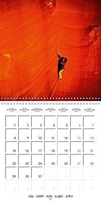 The thrill of climbing: Cliffs and rock faces (Wall Calendar 2019 300 × 300 mm Square) - Produktdetailbild 7