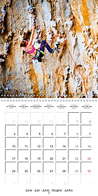 The thrill of climbing: Cliffs and rock faces (Wall Calendar 2019 300 × 300 mm Square) - Produktdetailbild 6