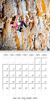 The thrill of climbing: Cliffs and rock faces (Wall Calendar 2019 300 × 300 mm Square) - Produktdetailbild 6