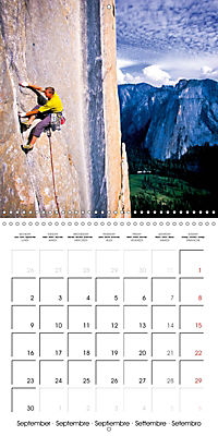 The thrill of climbing: Cliffs and rock faces (Wall Calendar 2019 300 × 300 mm Square) - Produktdetailbild 9