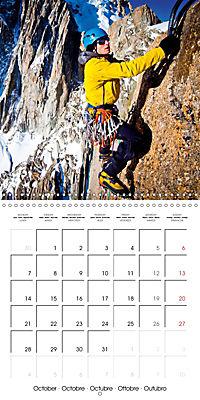 The thrill of climbing: Cliffs and rock faces (Wall Calendar 2019 300 × 300 mm Square) - Produktdetailbild 10