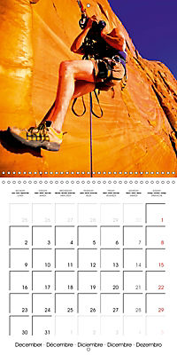 The thrill of climbing: Cliffs and rock faces (Wall Calendar 2019 300 × 300 mm Square) - Produktdetailbild 12