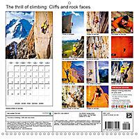 The thrill of climbing: Cliffs and rock faces (Wall Calendar 2019 300 × 300 mm Square) - Produktdetailbild 13