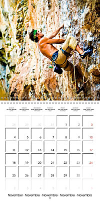 The thrill of climbing: Cliffs and rock faces (Wall Calendar 2019 300 × 300 mm Square) - Produktdetailbild 11