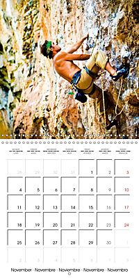 The thrill of climbing: Cliffs and rock faces (Wall Calendar 2019 300 × 300 mm Square) - Produktdetailbild 11