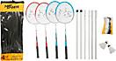 The Toy Company - New Sports Badminton-Set, für 4 Spieler
