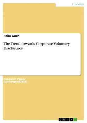 The Trend towards Corporate Voluntary Disclosures, Reka Goch