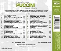 The Ultimate Puccini Opera Album - Produktdetailbild 1